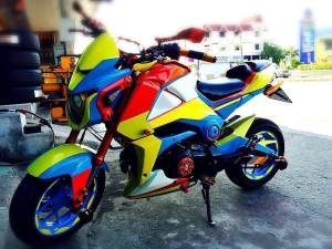 Honda Grom modification (28)