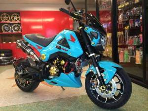 Honda Grom modification