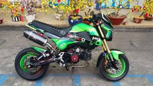 Honda Grom modification'