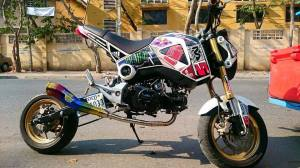 Honda MSX 125 Grom modif (17)