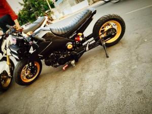 Honda MSX 125 Grom modif