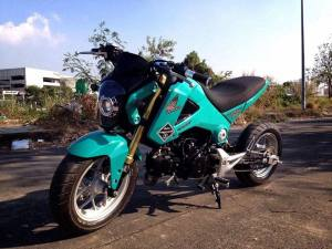 Honda MSX 125 Grom modification (11)