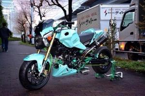 Honda MSX 125 Grom modification (2)