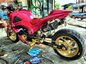 Honda MSX 125 Grom modification (24)