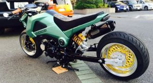 Honda MSX 125 Grom modification (3)
