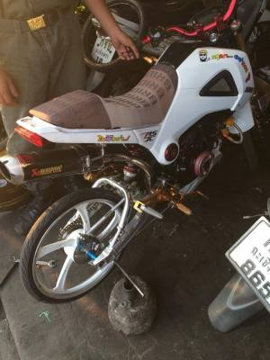 Honda MSX 125 Grom modification (5)