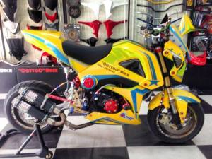 Honda MSX 125 Grom modification (6)
