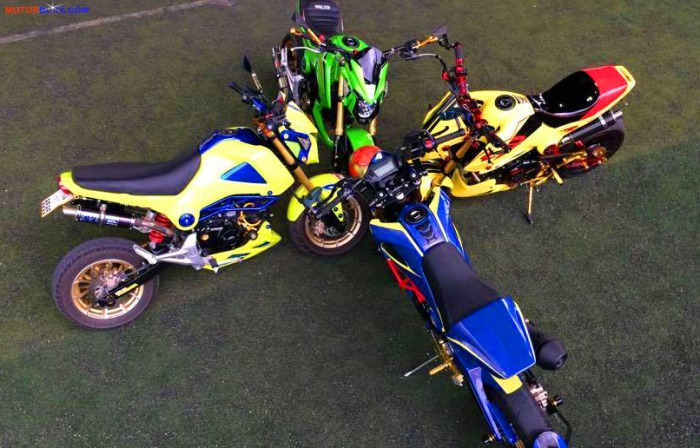 Honda MSX 125 Grom modification (7)