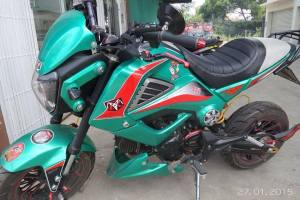 Honda MSX 125 Grom modification (8)