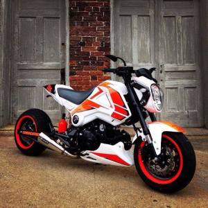 Honda MSX 125 Grom modification