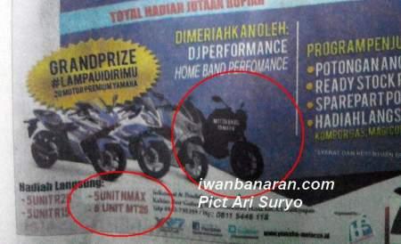 Iklan New Yamaha MT25 (2)