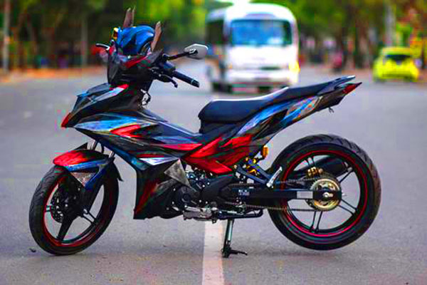 terbaru modifikasi motor mx king