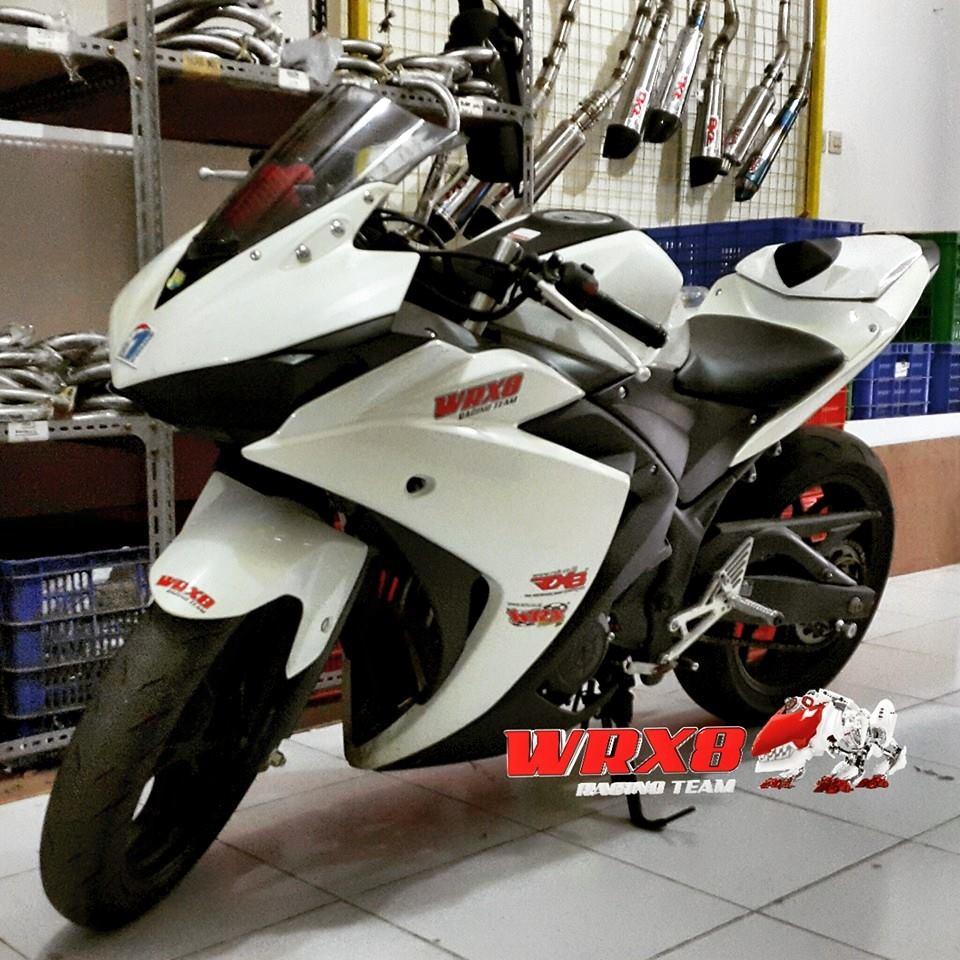 Modifikasi yamaha r25 8 motorblitz
