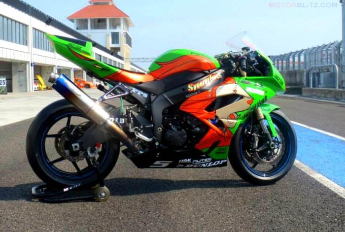 motor sebelum dan sesudah race