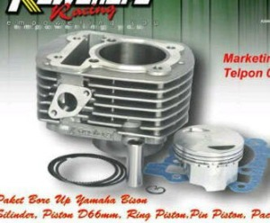 Paket bore up byson 66mm