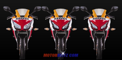 skotlet headlamp cbr150r lokal model ninja2c