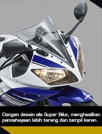 Yamaha R15 lampu-depan-ganda