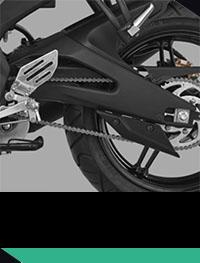 Yamaha R15 lengan ayun aluminium
