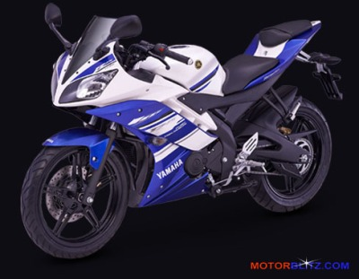 Yamaha R15 Racing blue
