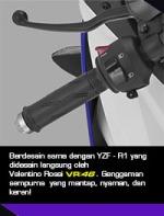 Yamaha R15 racing-handgrip