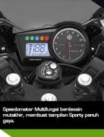 Yamaha R15 speedometer