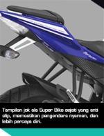 Yamaha R15 split-seat