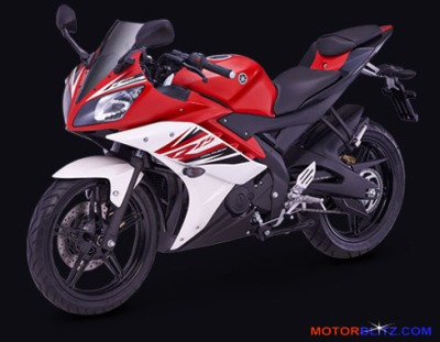Yamaha R15 Supernova-red