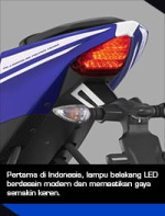 Yamaha R15 tail-light