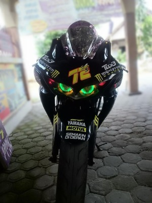 Yamaha Scorpio Modifikasi Fairing (14)