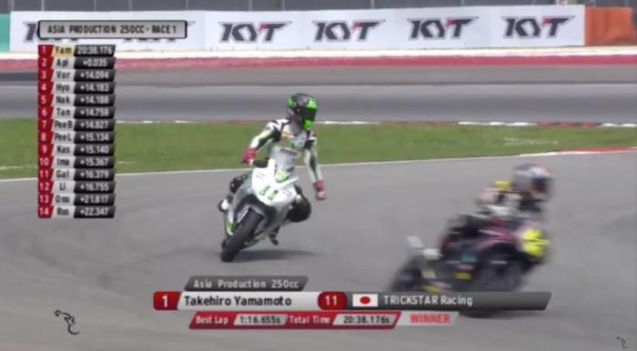 yamamoto trickstar racing winner