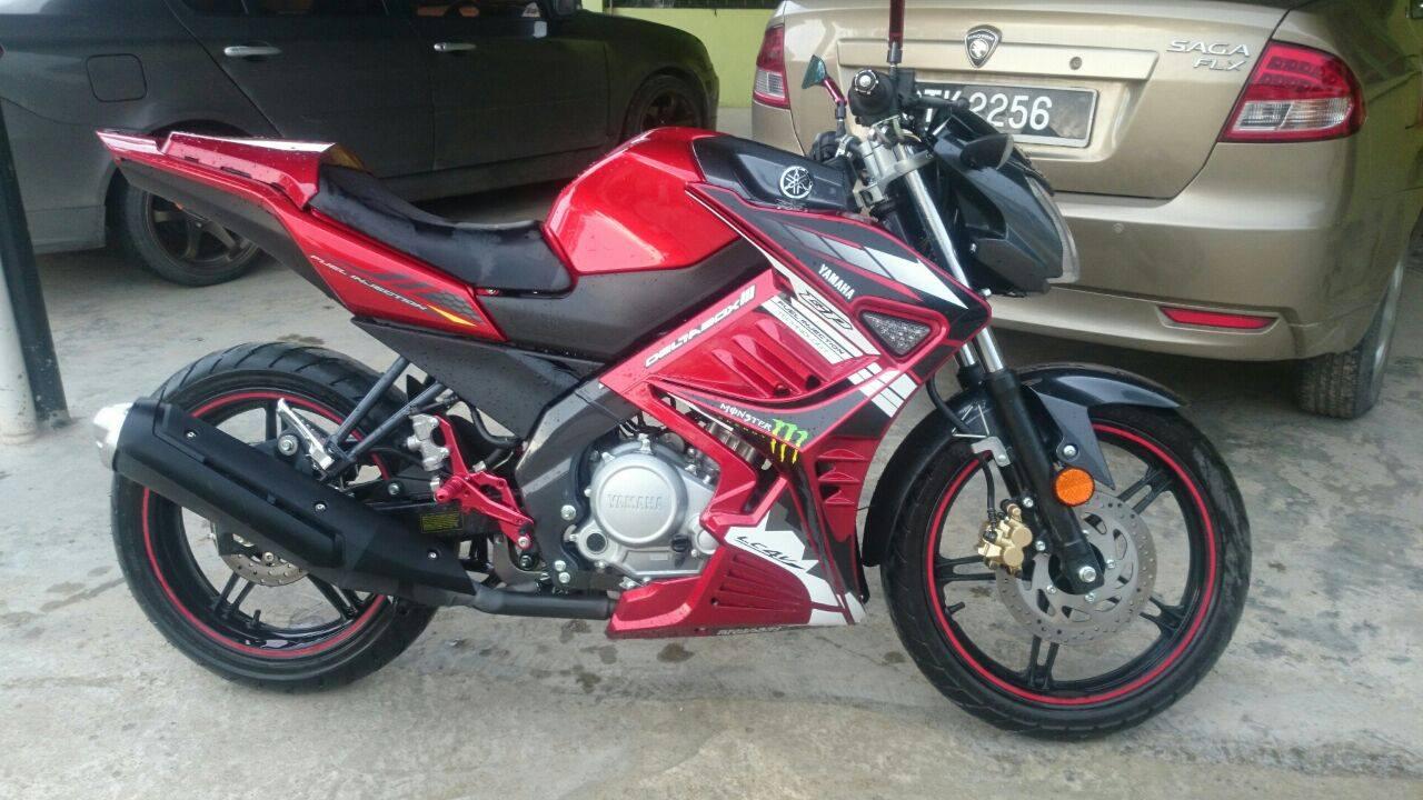 47 Foto Gambar Modifikasi Motor Yamaha Vixion Advance Yang Terbaru