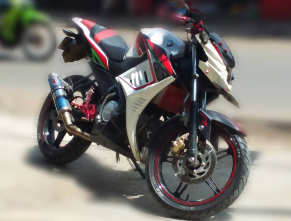 Download Modifikasi Motor New Vixion Street Fighter Terbaru Obeng