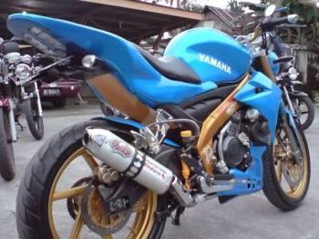 Modifikasi New Vixion streetfighter. (4)
