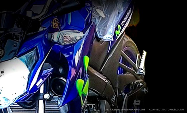 New vixion advance Motogp Movistar facelift 2015 (9A)