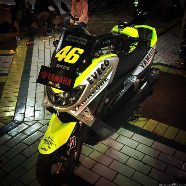 Yamaha Nmax 46 Nmax Versi Valentino Rossi Motogp Motorblitz
