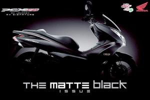 pcx black mate