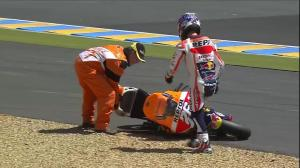 Pedrosa crash le mans 2015