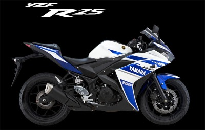 R25 standar versi GP Blue.