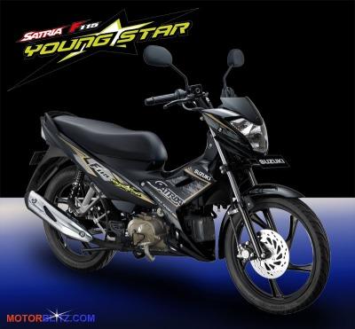Satria F115 youngstar black