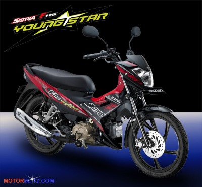 Satria F115 youngstar red