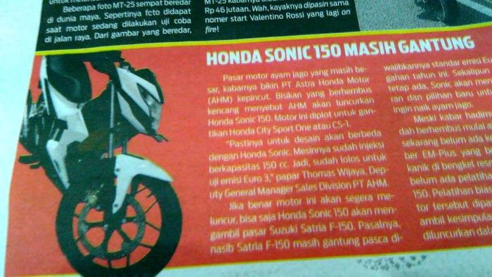 sonic 150 k56