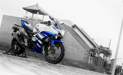 yamaha r15 modif headlamp