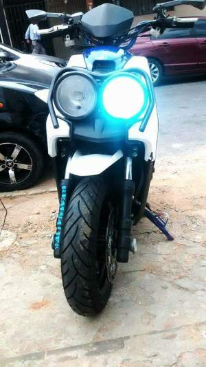 Yamaha Zuma modification (10)