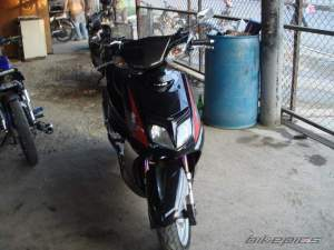 Yamaha Zuma modification (2)