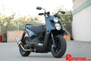 Yamaha Zuma modification (2)