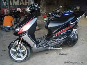 Yamaha Zuma modification (3)