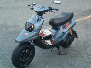 Yamaha Zuma modification (36)