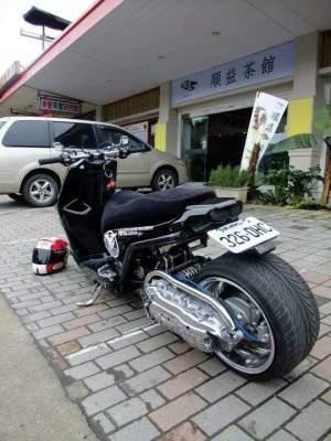 Yamaha Zuma modification (40)