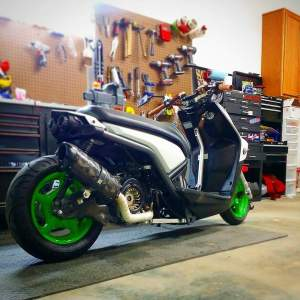 Yamaha Zuma modification (41)