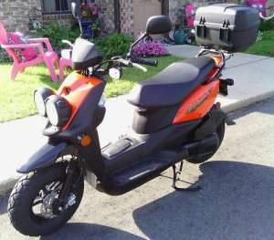 Yamaha Zuma modification (61)